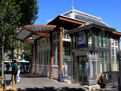 Mouffetard  gare port royal.jpg